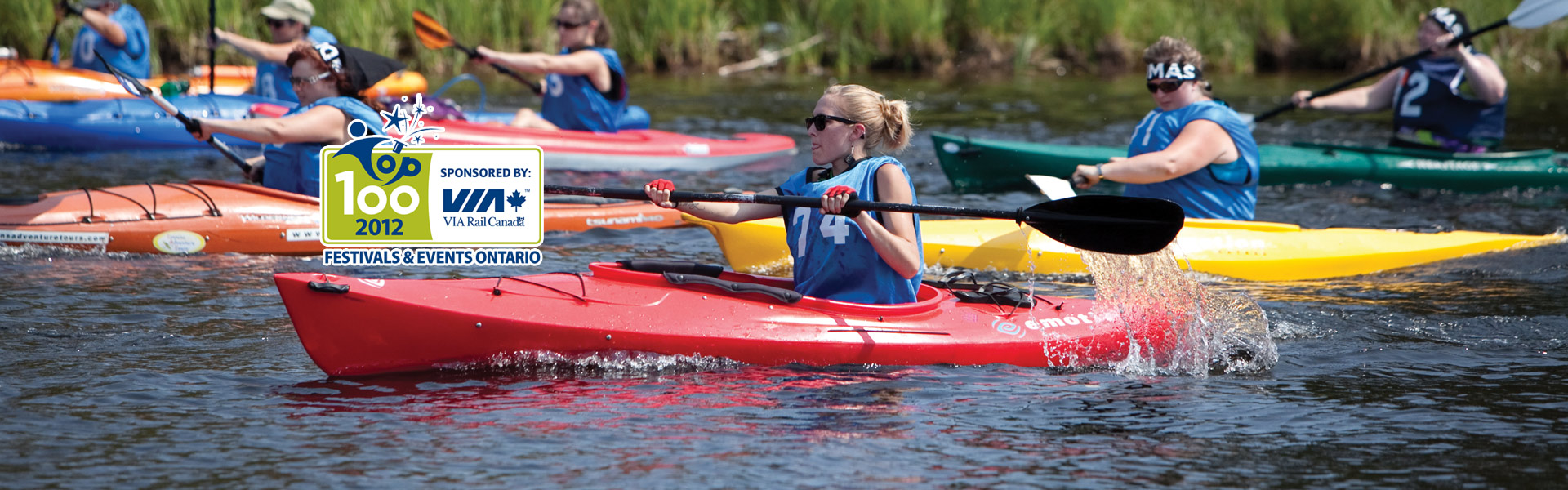 <h2>August 22-24, 2014</h2> Join us for the 6th Annual Great Canadian Kayak Challenge and Festival!