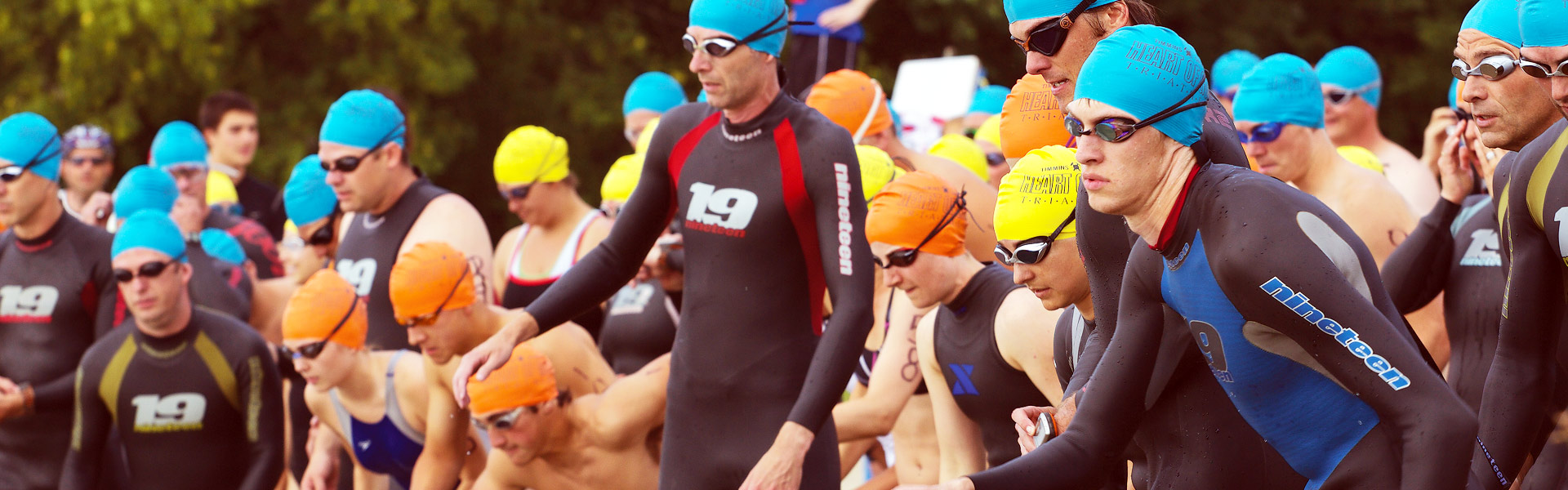 <h2>Heart of Gold Triathlon</h2> Swim, bike and run on Sunday July 9th, 2017 in the fastest growing sport in North America!