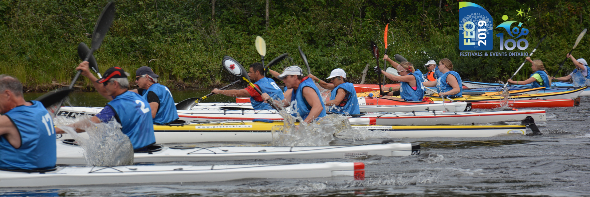<h2>August 23, 24 and 25 2019</h2> 11th Annual Great Canadian Kayak Challenge and Festival!
