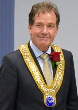Current Mayor of Timmins George Pirie