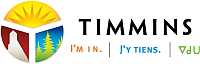 Timmins I am in logo