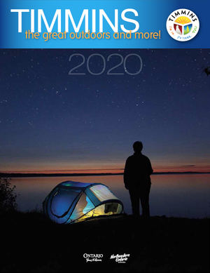 Timmins tourism guide magazine cover